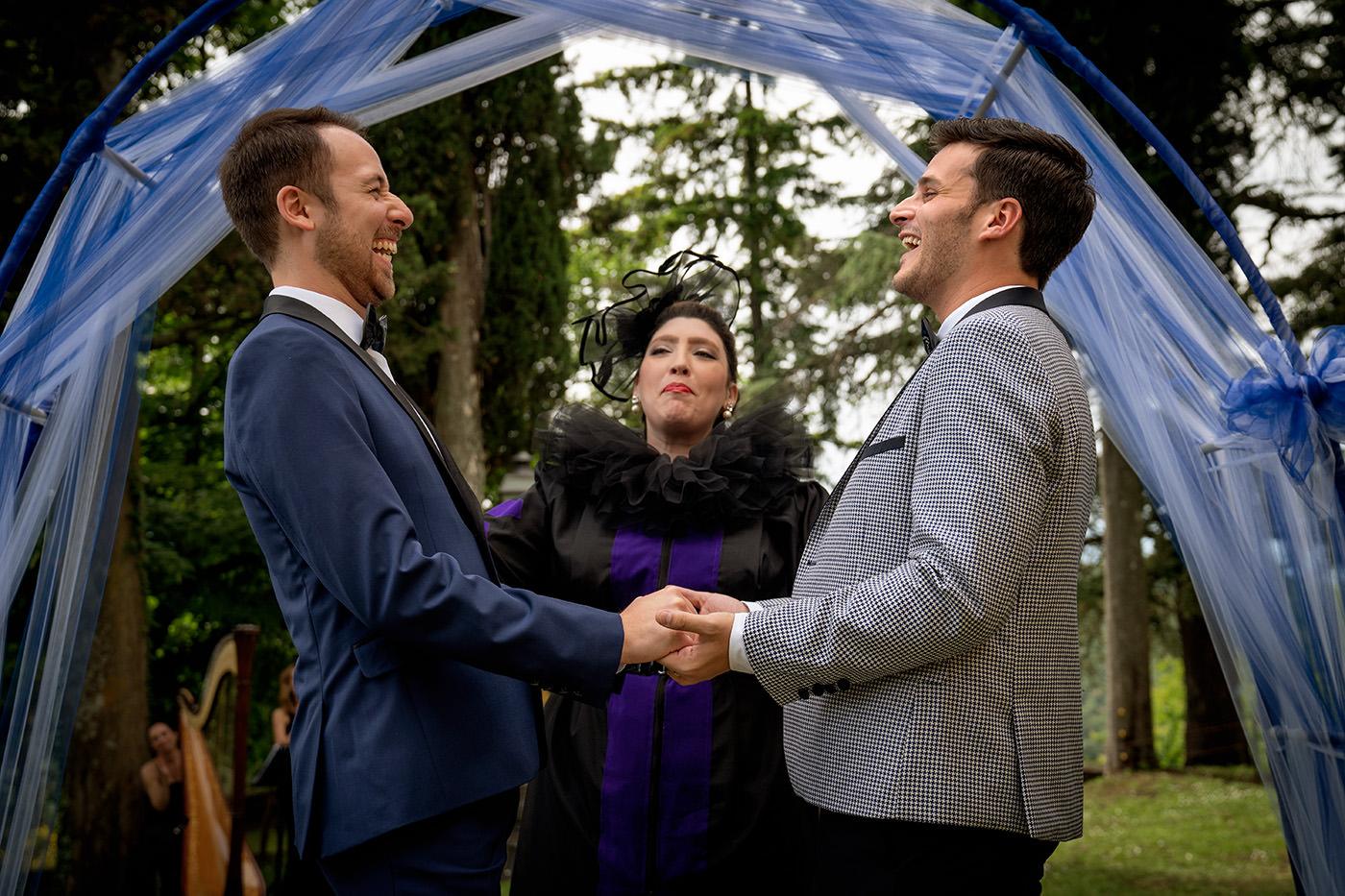 Same-Sex Wedding Photographer Florence: Timur & Guillaume.