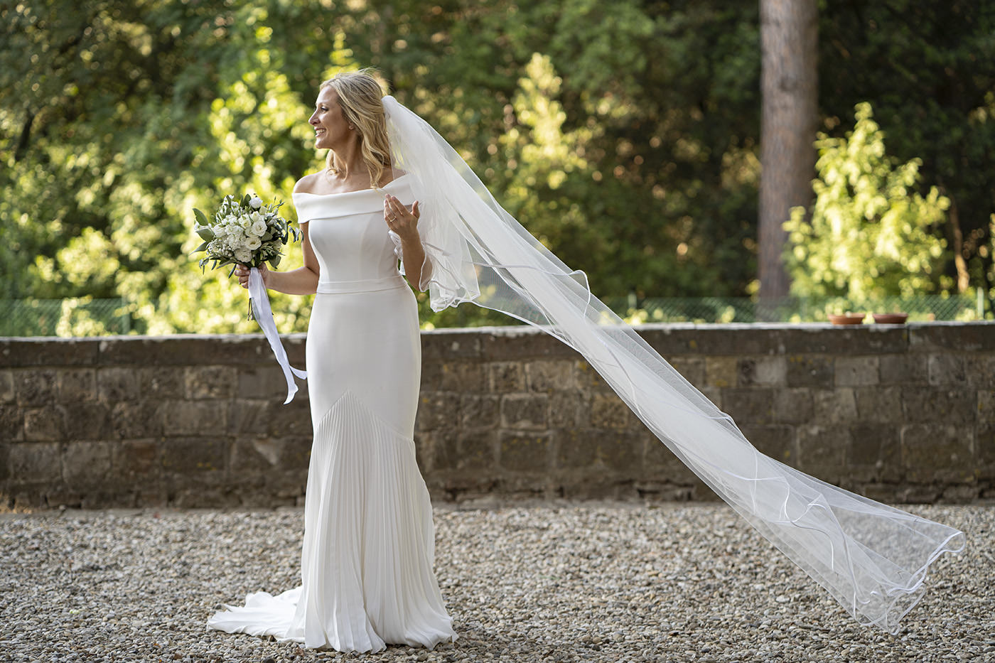 Tuscan Wedding Photo Shoots At Palagio Castle by Duccio Argentini