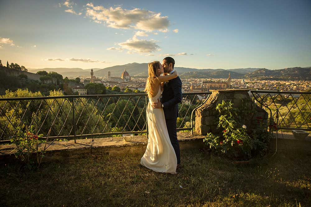 Intimate Elopement Photographer In Florence: Jemma and Matthew
