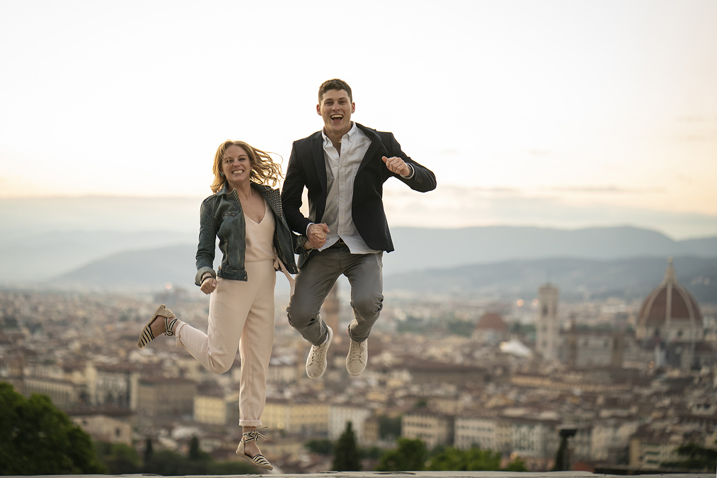 Engagement Photographer Florence: A spring Session In Florence