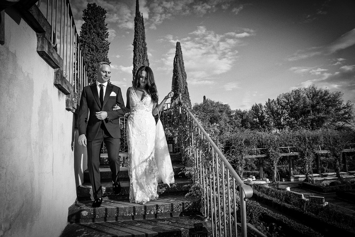 Elopement Photo Shoots In Florence at Il Salviatino by Duccio Argentini