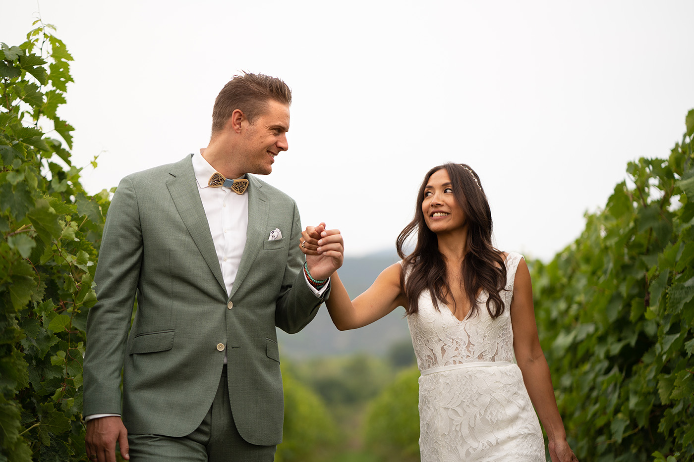 Vows Renewal Photographer in Tuscany: Eva and Erwin, celebrating  5th year of marriage