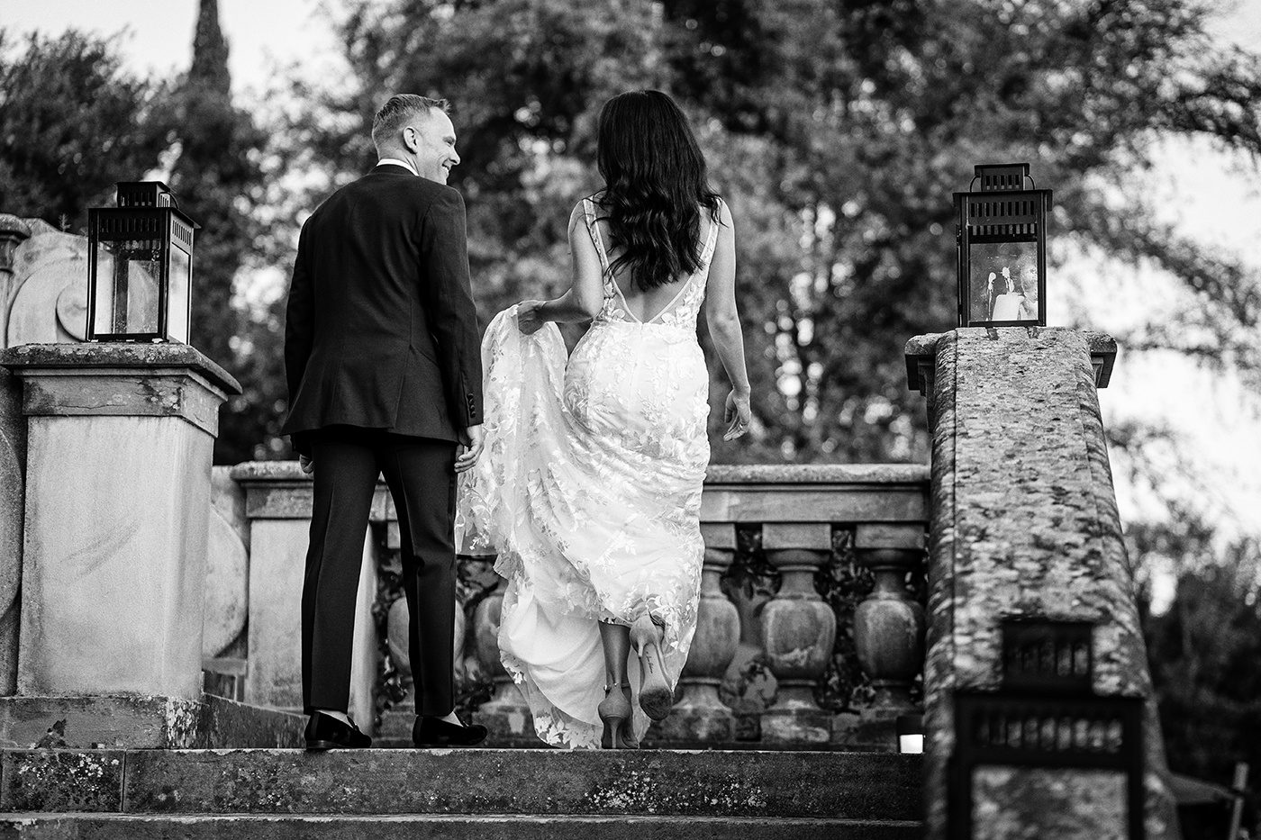 Elopement Photo Shoots In Florence at Il Salviatino